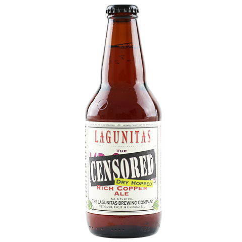Dry Hopped Lagunitas Censored Rich Copper Ale