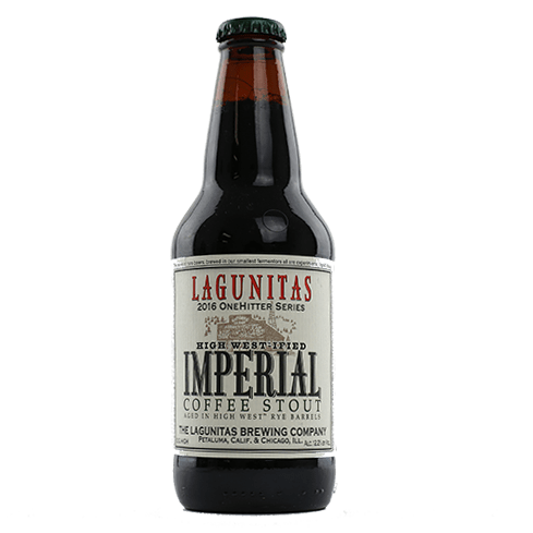 Lagunitas High West-ified Imperial Coffee Stout (Barrel-Aged)
