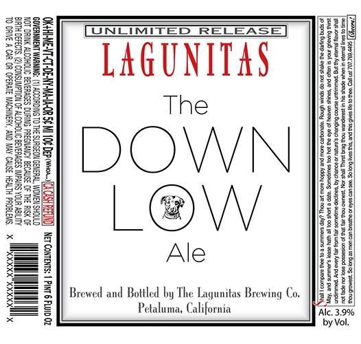 Lagunitas The Down Low Session Ale