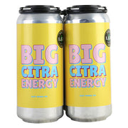 Local Craft Beer Big Citra Energy Hazy Double IPA