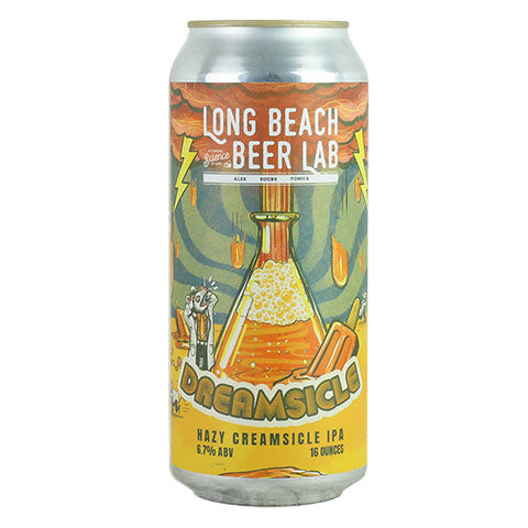 Long Beach Beer Lab Dreamsicle Hazy IPA