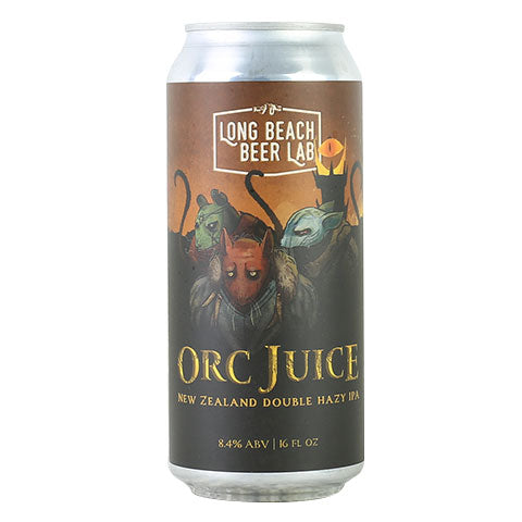 Long Beach Beer Lab Orc Juice Double Hazy IPA