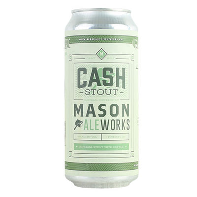 Mason Aleworks Cash Imperial Coffee Stout