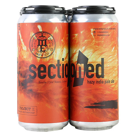 Mother Earth Sectioned Hazy IPA