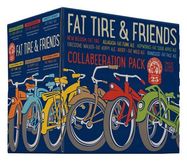 New Belgium Fat Tire & Friends Collabeeration Pack