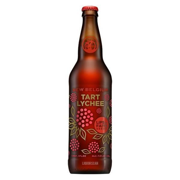 New belgium lips of faith tart lychee buy craft beer for Purchase craft beer online