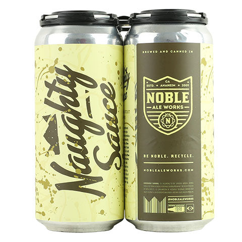 Noble Ale Works Naughty Sauce Stout