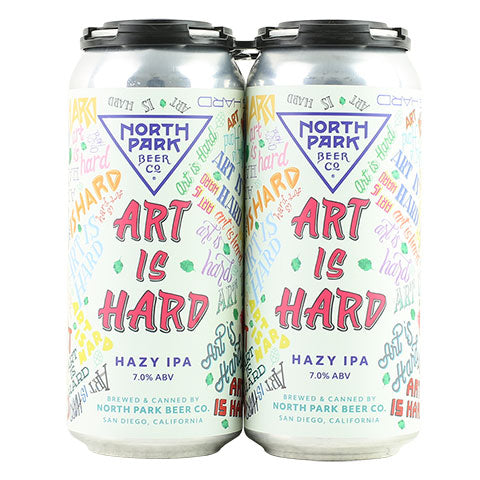 North Park Art Is Hard Hazy IPA