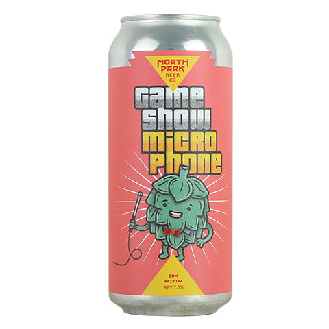 North Park Game Show Microphone Hazy IPA