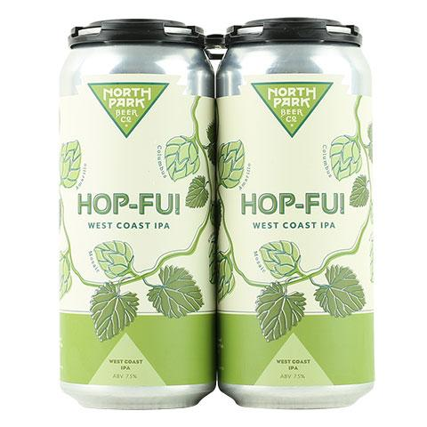 North Park Hop-Fu! West Coast IPA