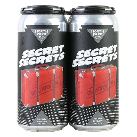 North Park Secret Secrets Double Dry-Hopped Hazy DIPA