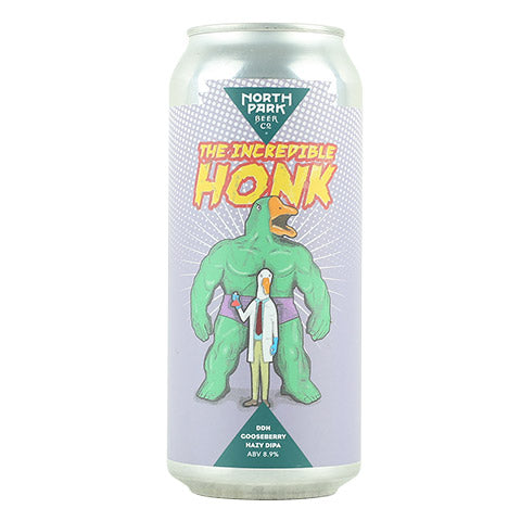 North Park The Incredible Honk Gooseberry Hazy DIPA