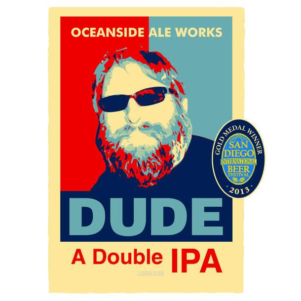 Oceanside Ale Works Dude A Double IPA