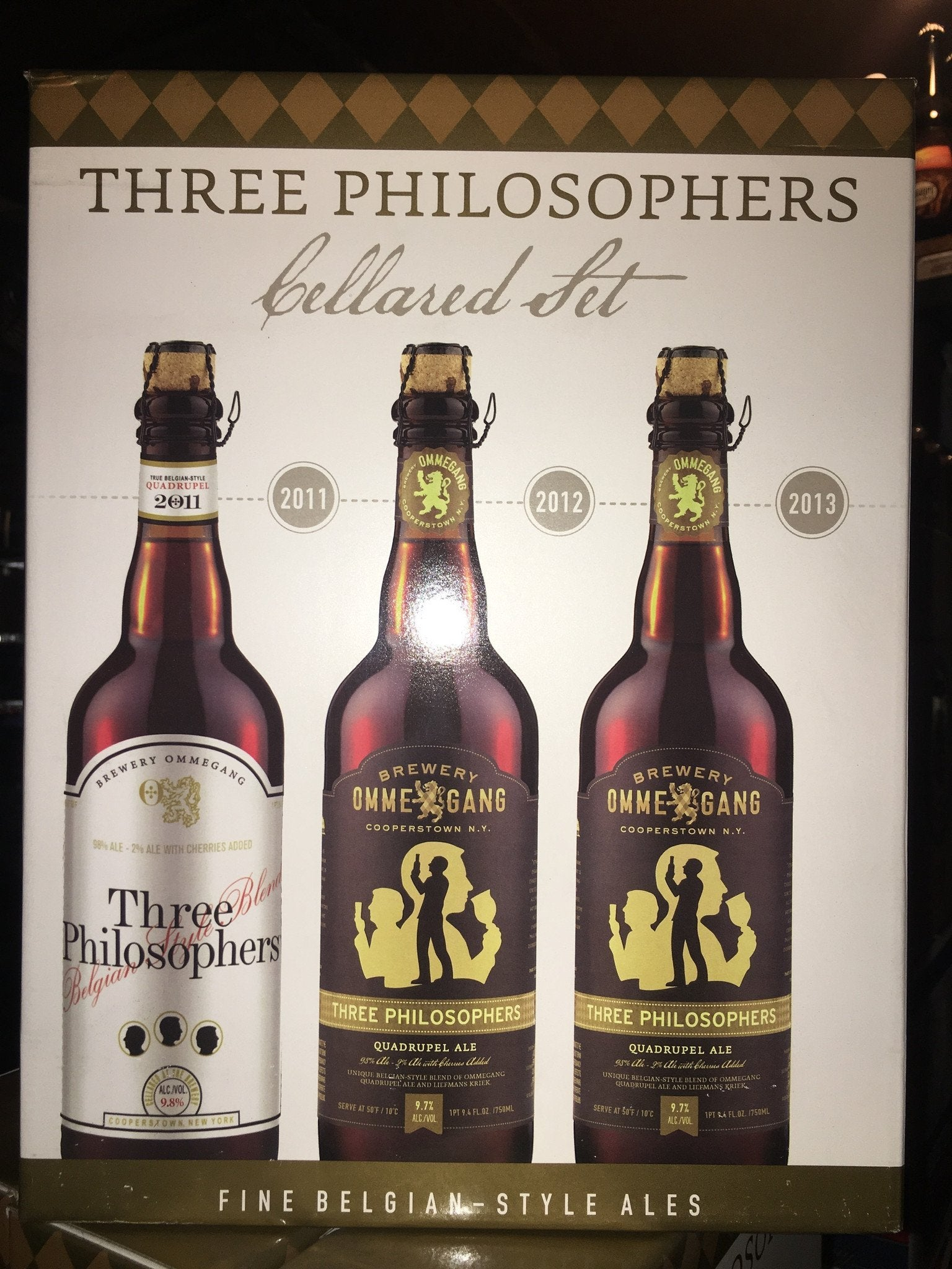 Ommegang Three Philosophers Vintage Cellared Set