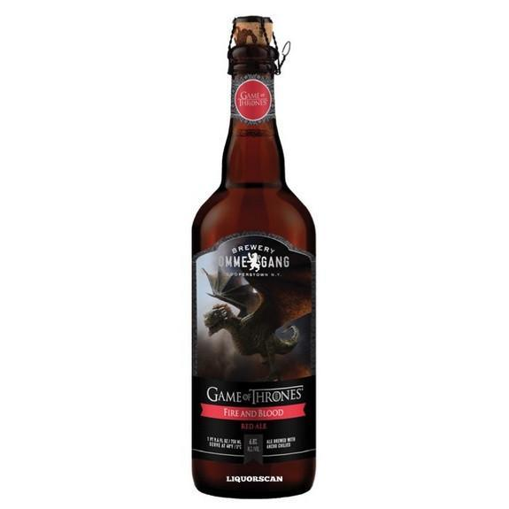Ommegang Fire and Blood Red Ale Rhaegal