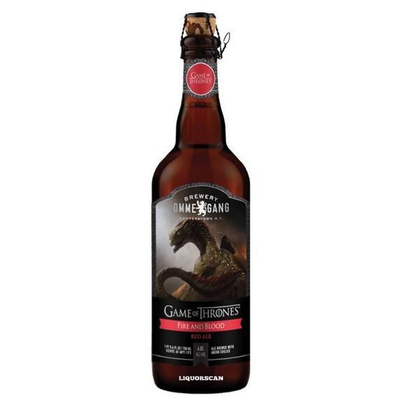 Ommegang Fire and Blood Red Ale Viserion