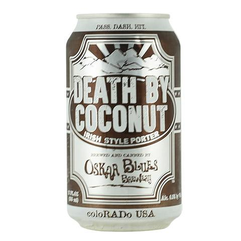 Oskar Blues Death by Coconut Irish Porter