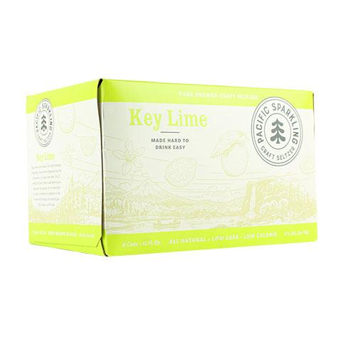 Pacific Tangy Key Lime Seltzer
