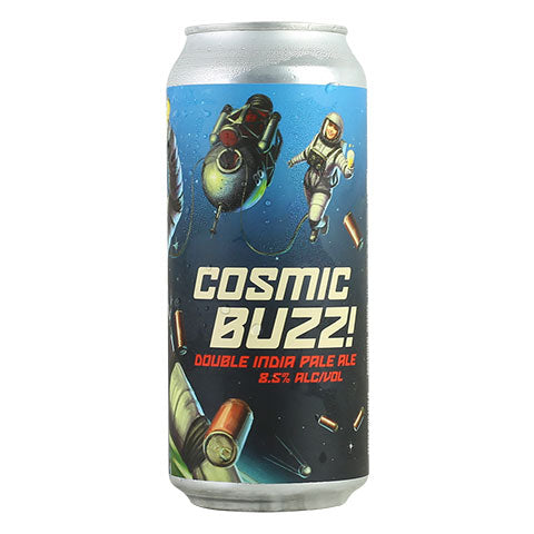 Paperback Cosmic Buzz! Double IPA