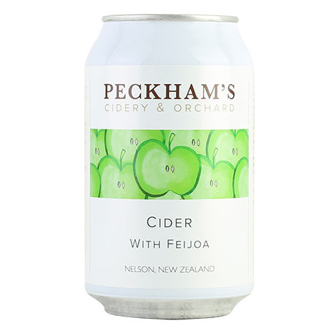 Peckham's Cider with Feijoa