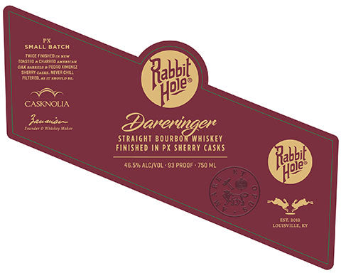 Rabbit Hole Dareringer Bourbon Finished in PX Sherry Cask