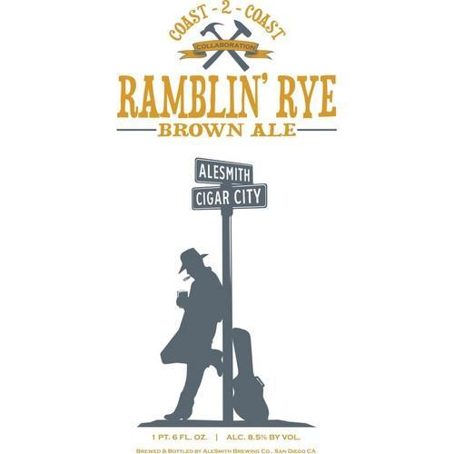 AleSmith Cigar City Ramblin' Rye