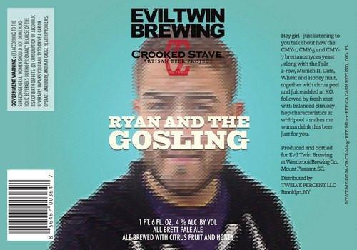 Evil Twin Crooked Stave Ryan and the Gosling Brett Pale Ale