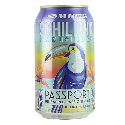 Schilling Passport: Pineapple Passionfruit Cider