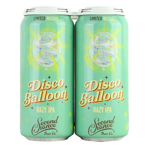 Second Chance Disco Balloon Hazy IPA