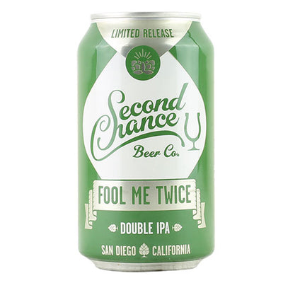 Second Chance Fool Me Twice Double IPA