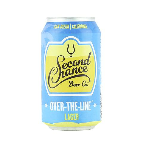 Second Chance Over The Line Lager