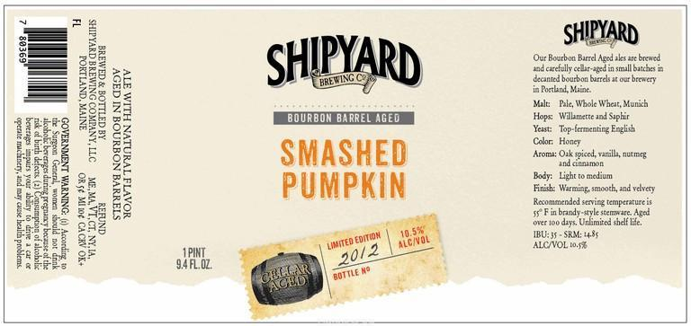 Shipyard Bourbon Barrel Aged Smashed Pumpkin Ale