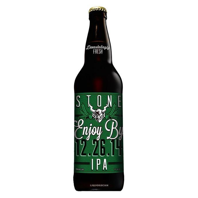 Stone Enjoy By 12.26.14 IPA