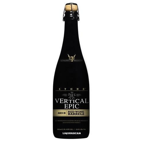 Stone 11.11.11 Vertical Epic Ale Aged in Red Wine Barrels
