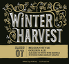 Stone Winter Harvest Belgian Golden Ale Aged in White Wine Barrels