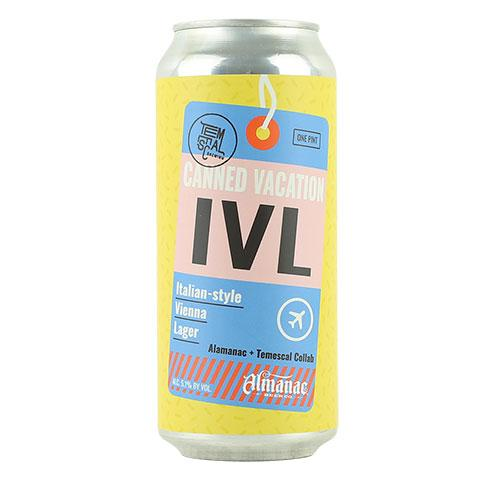 Temescal / Almanac Canned Vacation Lager