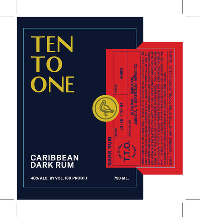 Ten To One Dark Rum