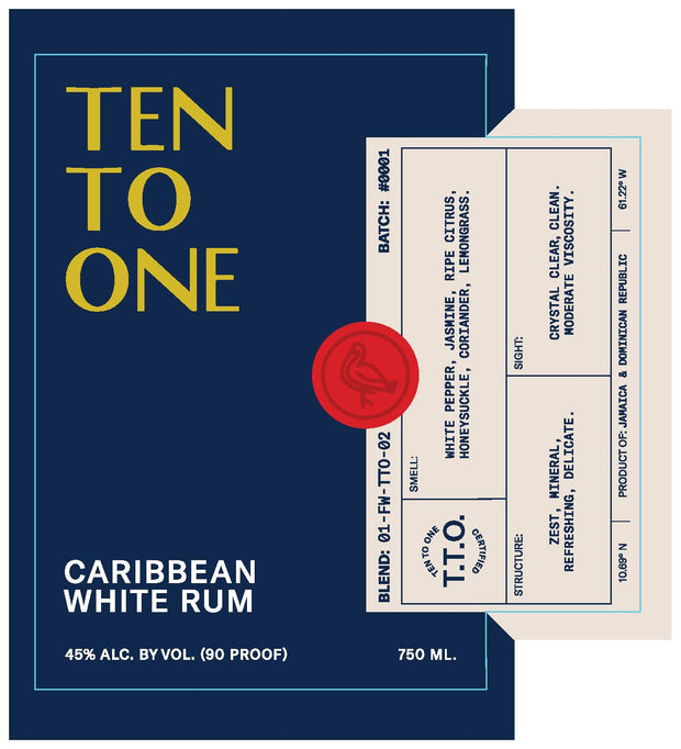 Ten To One White Rum