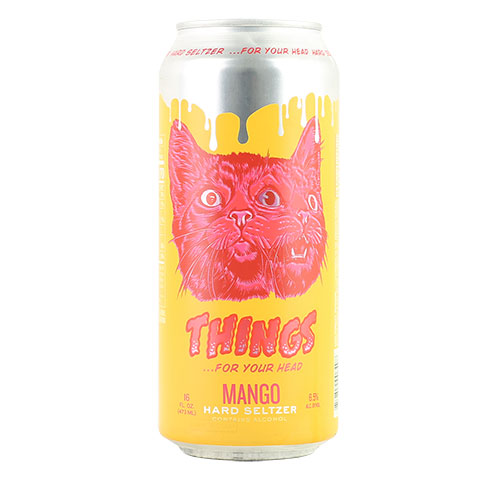 Brouwerij West THINGS For your Head...Mango Hard Seltzer