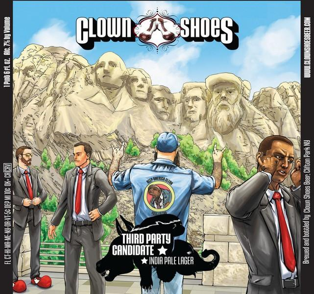 Clown Shoes Third Party Candidate IPL