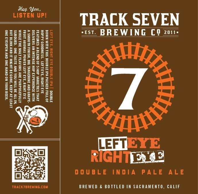 Track 7 Left Eye Right Eye Double IPA