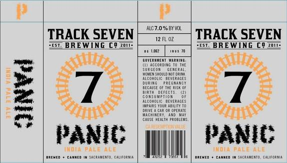 Track 7 panic ipa buy craft beer online from craftshack for Best place to buy craft beer online