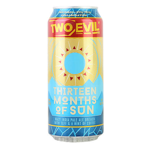 Two Roads / Evil Twin Thirteen Months of Sun Hazy IPA
