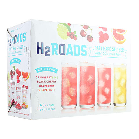 Two Roads H2Roads Seltzer Variety Pack
