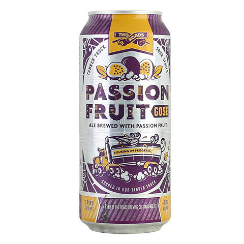 Two Roads Passion Fruit Gose