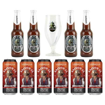 Unibroue Megadeth Beer Gift Set
