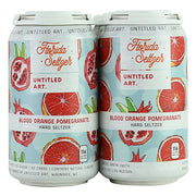 Untitled Art Florida Seltzer (Blood Orange & Pomegranate)
