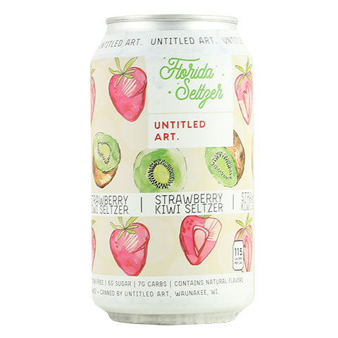 Untitled Art Florida Seltzer (Strawberry Kiwi)