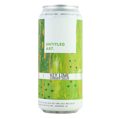 Untitled Art Key Lime Ginger Sour