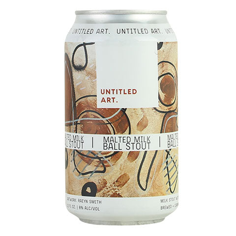 Untitled Art Malted Milk Ball Stout